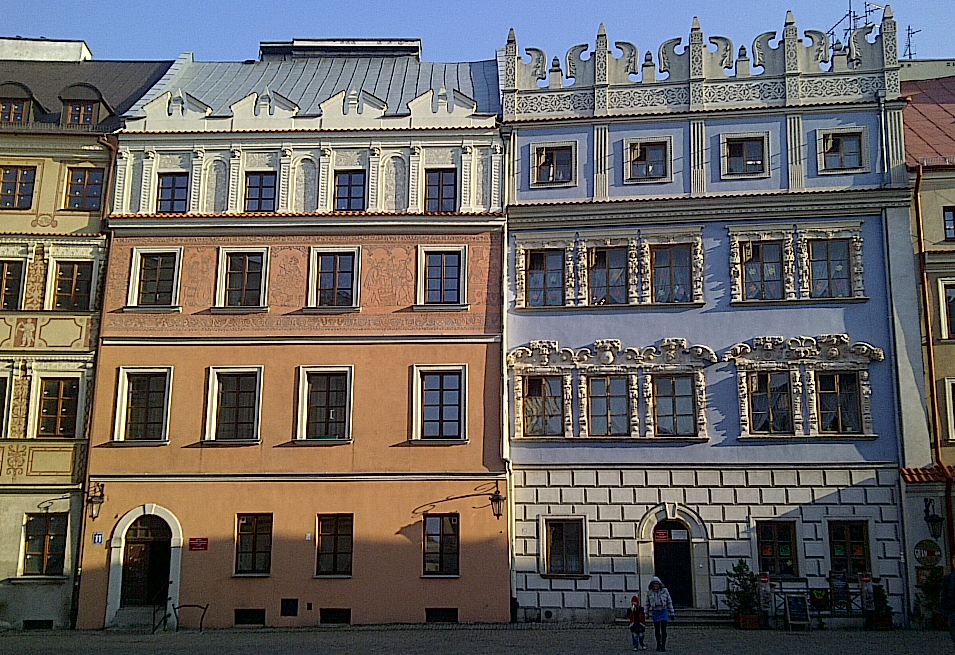 tenement houses Old Town
