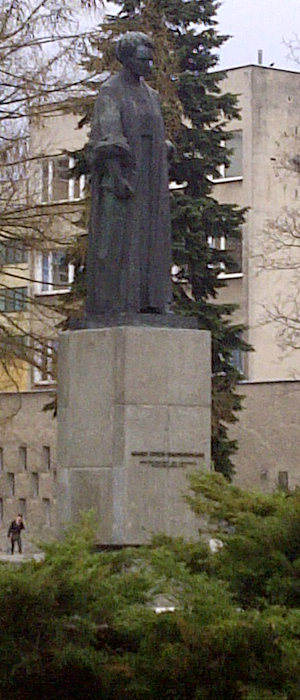 the Monument of Maria Curie-Skłodowska